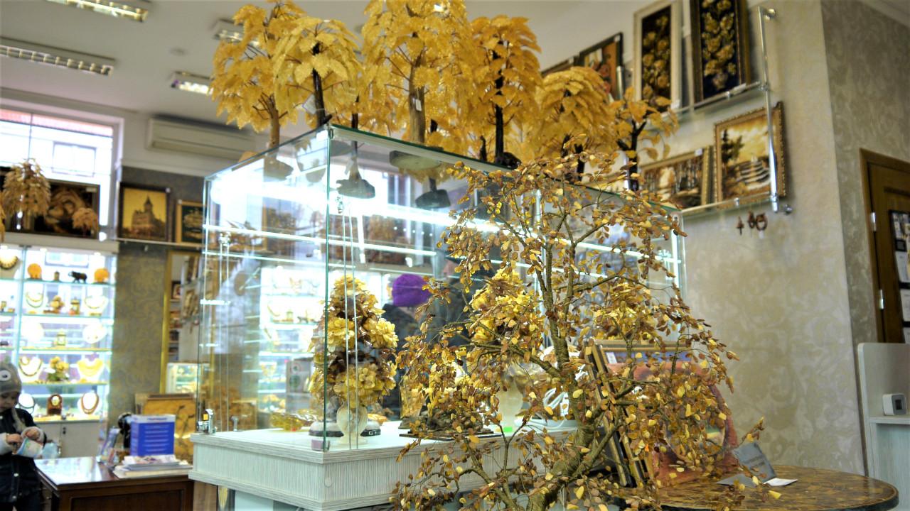Наши магазины Янтаря в Калининграде